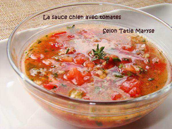 La sauce chien avec tomate est une variante de la sauce chien traditionnelle. Une sauce facile et rapide à réaliser et qui relève toutes les grillades !