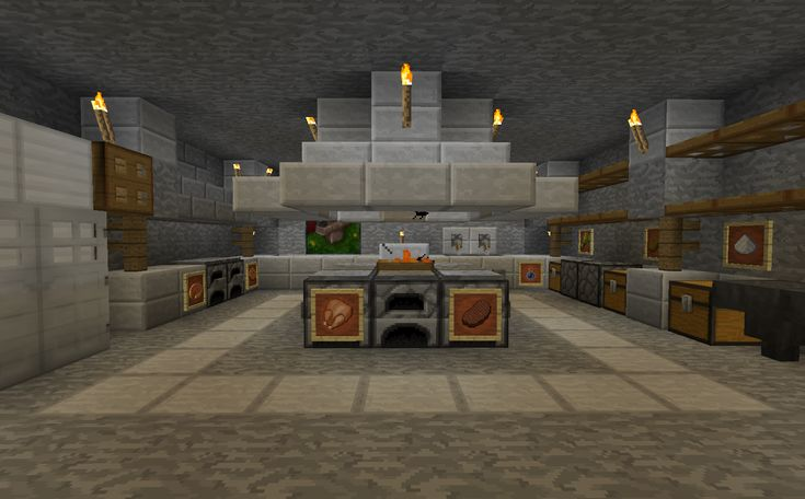 Minecraft kitchenminecraft projects minecraft kitchen with for Kitchen ideas minecraft