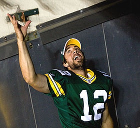 Aaron Rodgers.  Inappropriate?  That's the goal.