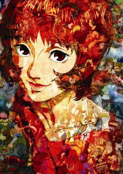 Paprika Japanese animation Pinno Pinterest Anime