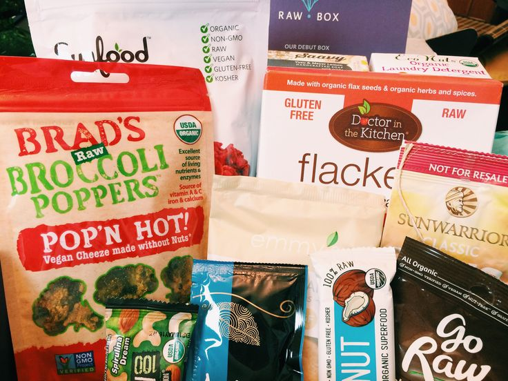 Raw Vegan Gift Box - Raw Box REVIEW