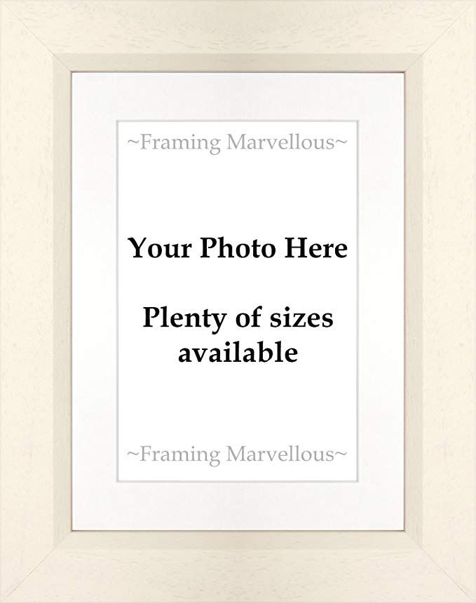 Framing Marvellous Calico Off White Wooden Photo Picture Frame A5 Pic 10x12a Glass Wall Strut White Mo Photo Picture Frames Glass Wall Picture Frames