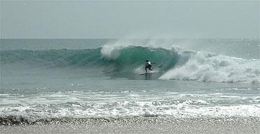 Surfing in Arugum Bay Sri Lanka