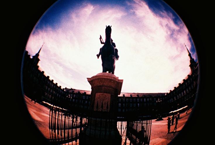 Plaza Mayor, Fisheye.