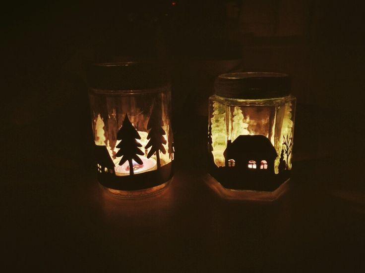 DIY candle light