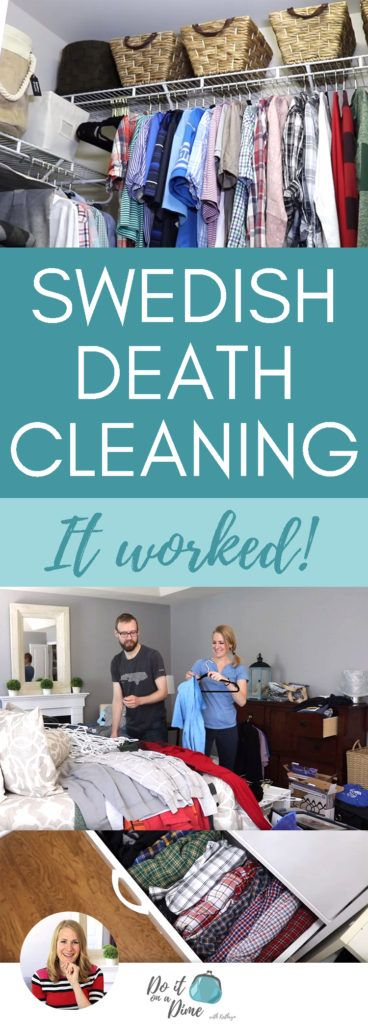 """I Tried """"Swedish Death Cleaning"""" (and it worked!)"""