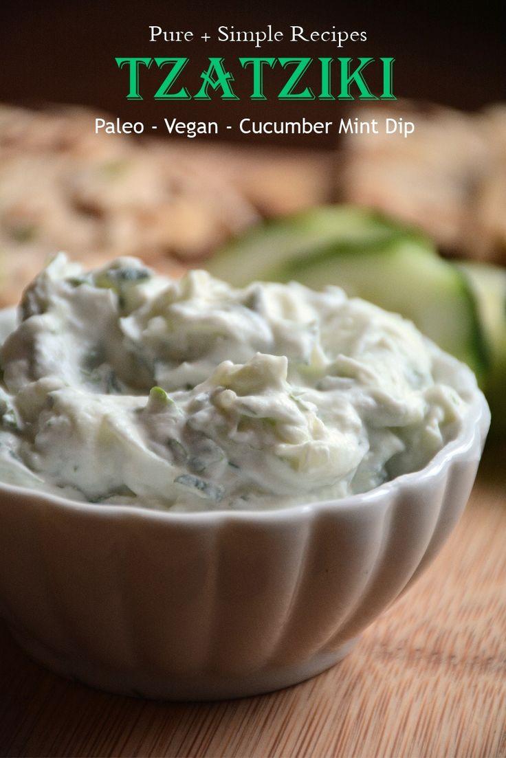 Tzatziki Sauce** Super Easy Recipe, Paleo, Dairy Free, Vegan, AIP