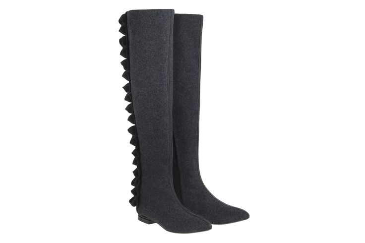 New high-knee boots. Burel makes them waterproofed and cozy for winter. #JosefinasPortugal