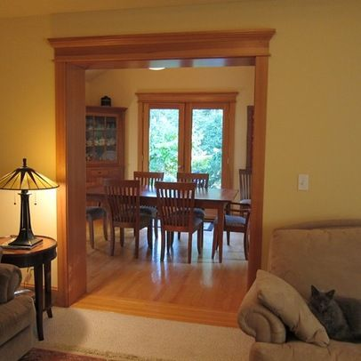 14 Best Images About Rooms With Wood Trim On Pinterest