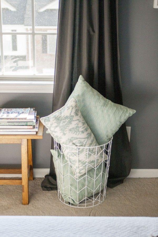 Best 25 Pillow Storage Ideas On Pinterest Storing