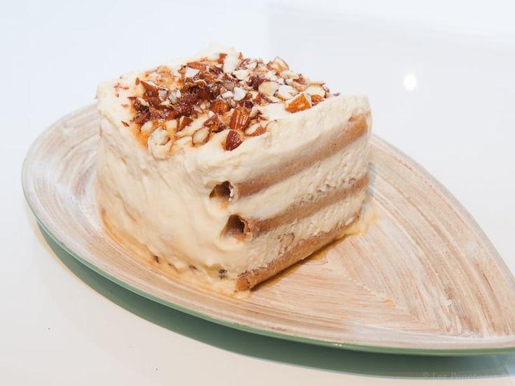 Recette de Tiramisù amaretto et amandes caramélisées : la recette facile