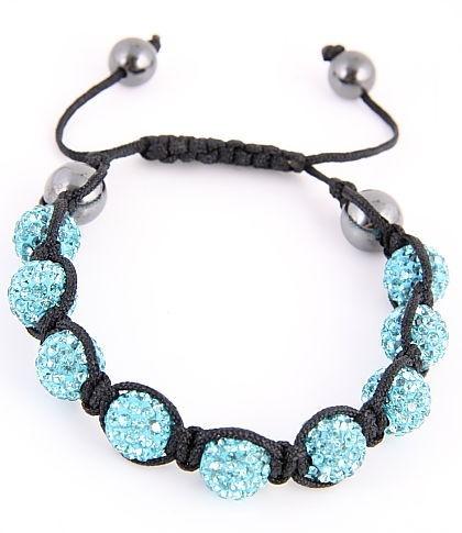 Shambala Blue Bracelet