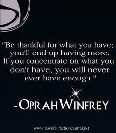 ARTICUS - Un mondo tutto da scoprire.: Law Of Attraction - Oprah Winfrei