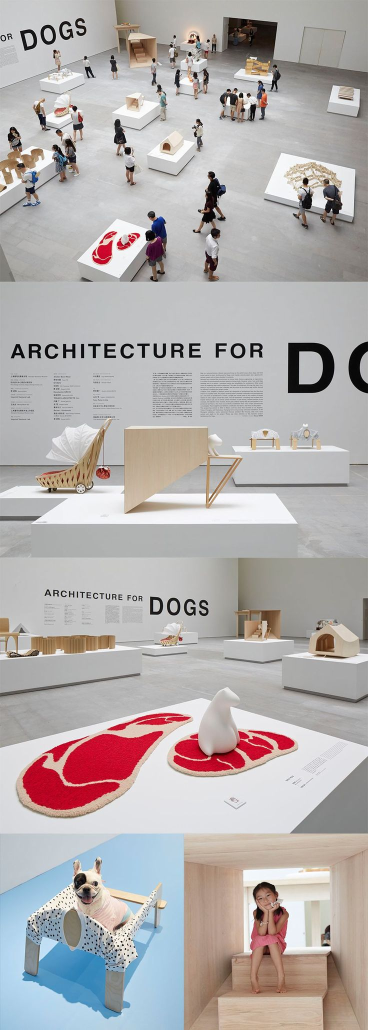 The exhibit is open from August 8 (Sat) through October 11 (Sun). This exhibition is the largest of the 6 traveling exhibitions, newly including Chinese architect Ma Yansong's
