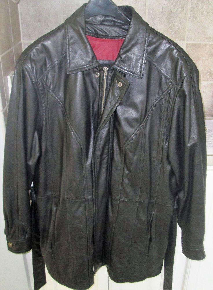 Wilsons LeatherTHINSULATEVintage Leather JacketBlack w