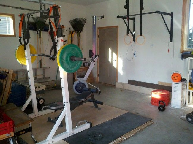 Best  Home Workout Room Gym Design Ideas Images On Pinterest - Small home gyms
