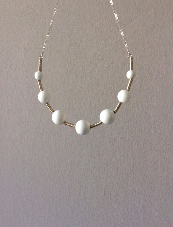 Atomic white onyx 925 sterling silver plated hand by EliaLaNoire