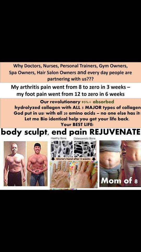 Body Sculpt, End Pain and Rejuvenate! www.facebook.com/happyandhealthywithvisi