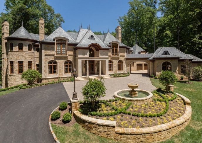 A French Chateau In The Virginia Countryside This Va