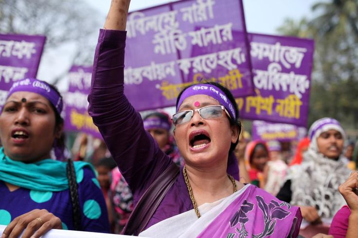 "Wondering how to celebrate today. Read this Time article summarizing ""How the World Celebrated International Women's Day"". http://time.com/4250718/how-the-world-celebrated-international-womens-day/"