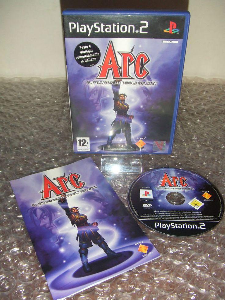 ARC Il tramonto degli spiriti - PS2 ps3 playstation - PAL ITA - Ottimo
