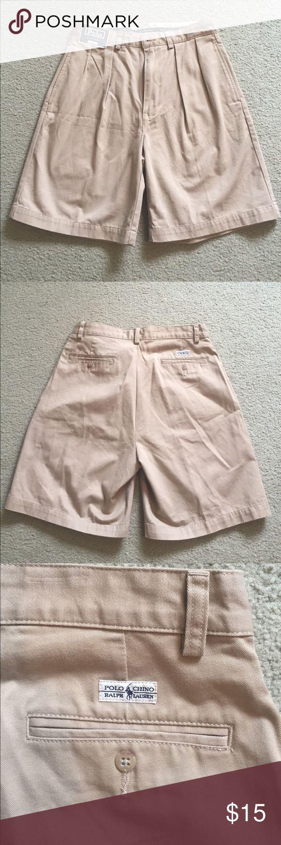 Men's Polo Ralph Lauren chino shorts Men's Polo Ralph Lauren new chino shorts. Never worn. Polo by Ralph Lauren Shorts