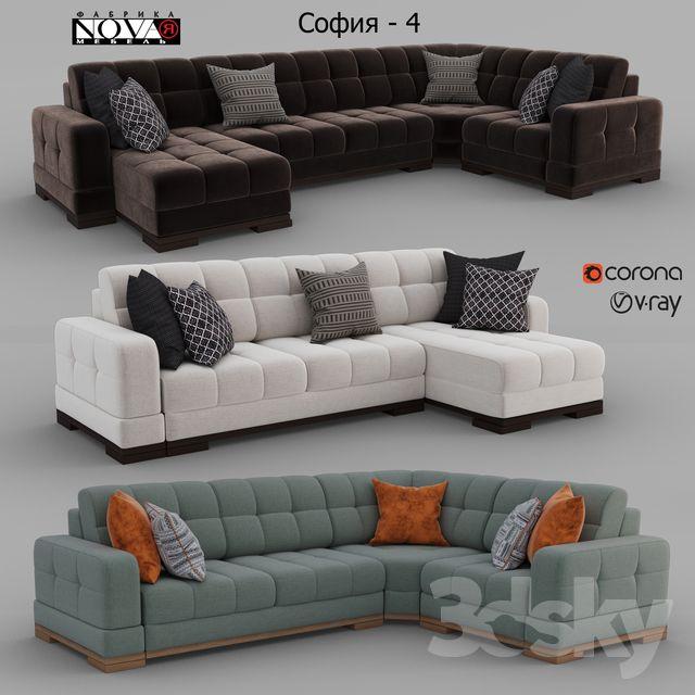 Sofas Sofia 4 Factory Novaya Furniture