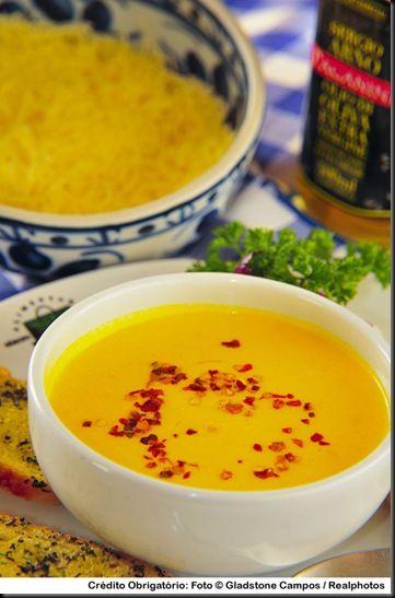 Cuecas na Cozinha >Sopa Creme de Cenoura com Laranja e Gengibre
