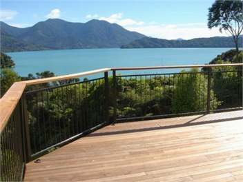 Mahau Sound Holiday Home accommodation. Kinloch - would workout $160 per night. With Go Girl Jo and Action Man Kal