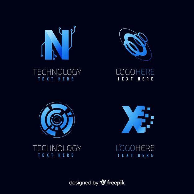 Robots Technology Design Technology Logo Design Tecnologia Informatica Technology Futuristic Technol In 2020 Technology Logo Logo Collection Logo Design Template