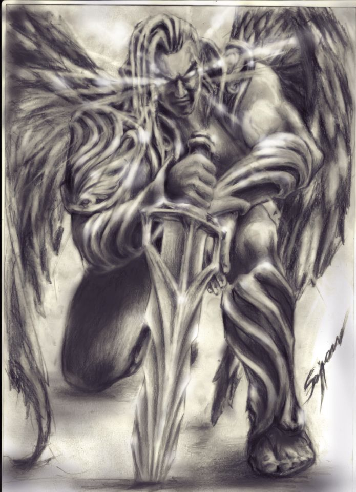 angel fear not... poss source tatouage demon tribal - Recherche Google