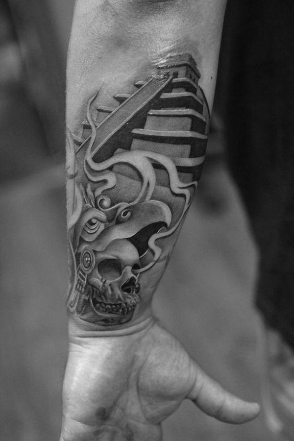 Diseños únicos De Tatuajes Aztecas Para Hombres Y Mujeres Diseños
