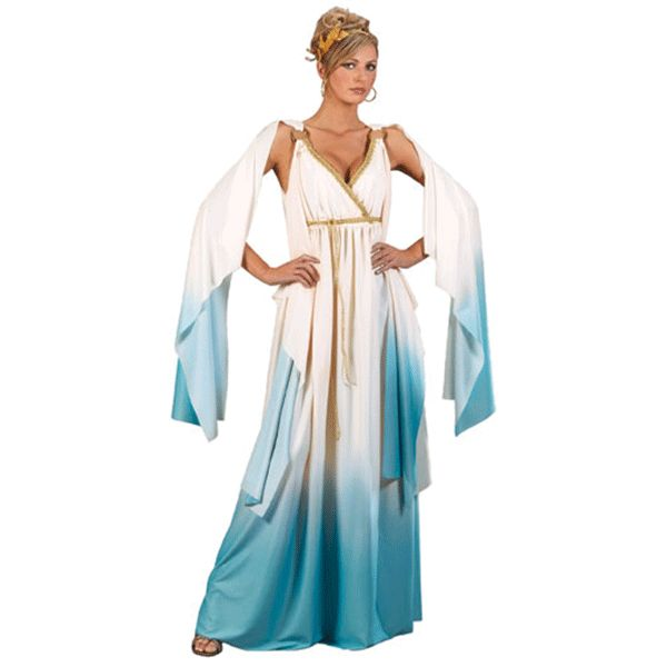 greek goddess womens costume wallys party supply store - Halloween Supply Store