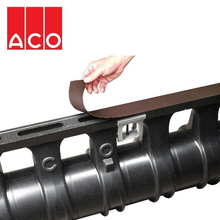 ACO Qmax Ductile Iron Edge Rail Protector - 15.25m Roll
