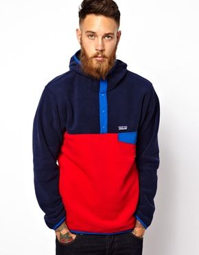 Enlarge Patagonia Synchilla Snap-T Hooded Fleece