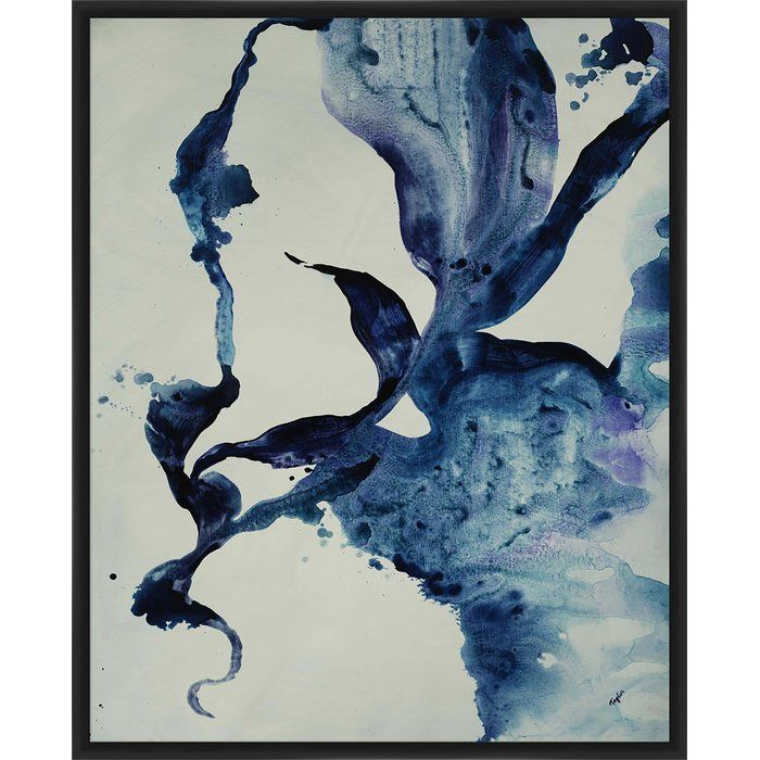 Mood and movement, in blue. Clouds oscillate from opaque to translucent, creating suggestive shapes and layers.