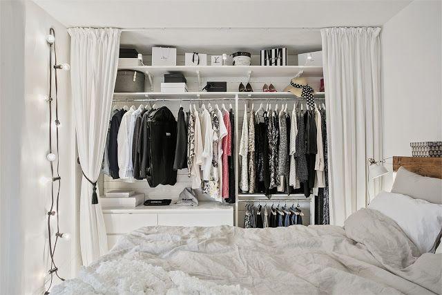 Un armario low cost para habitaciones con personalidad. diy