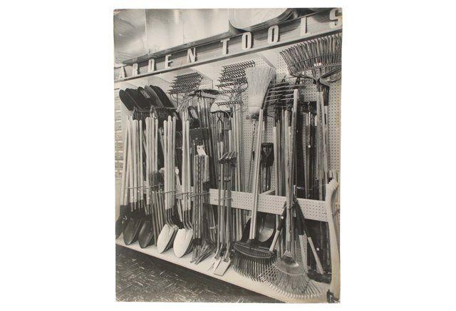 1950s Garden Tool Store Photo
