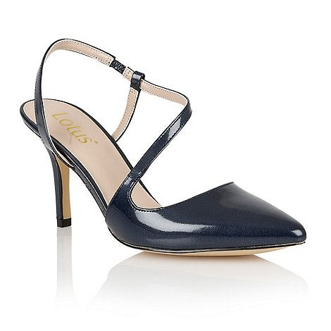 Marks And Spencer Wide Fit Kitten Heel Strap Court Shoes
