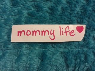 A personal favorite from my Etsy shop https://www.etsy.com/listing/481313533/mommy-life-decal-mommy-life-yeti-decal