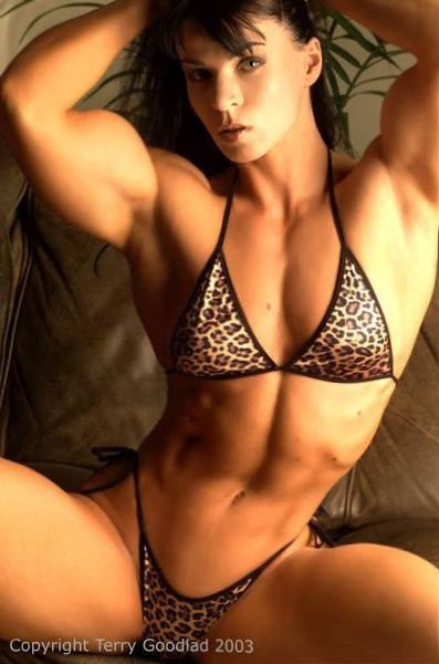 hot muscle babe
