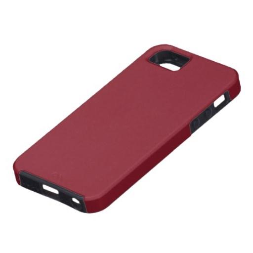 Cinnabar iPhone 5 Cases