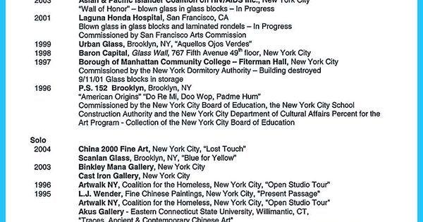 Artist Resume Template Custom Artist Resume Template That Look Professional  Vina Share Design Ideas