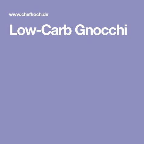 Low-Carb Gnocchi