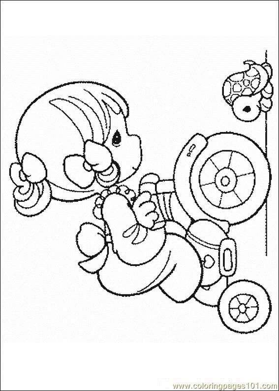 preciousmoments 08 coloring page free precious moments coloring pages