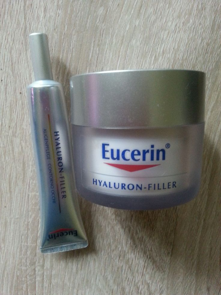 Eucerin Hylarun Filler cream and eye cream