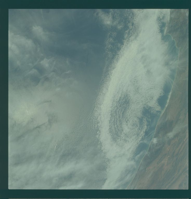 Apollo 9 Hasselblad image from film magazine 23/D - Earth orbit