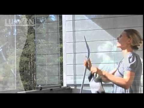 Easy cleaning of Lumon Balcony Glazing  Моем окна и стекла! Впускаем свет и солнце в дом!