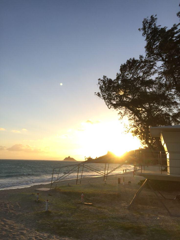 lanikai beach  sunrise♡