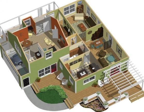 Interior Design, Sample Ideas Well Example Best Floor Plan Software Some  Examples Green Wall Picture